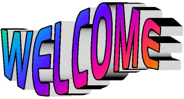 Moving clipart welcome #10