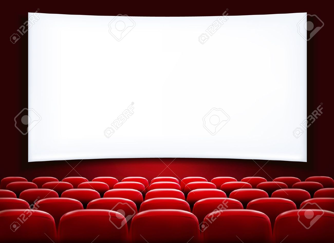 Library clipart movie theater building Of Theatre Clipart Screen Or
