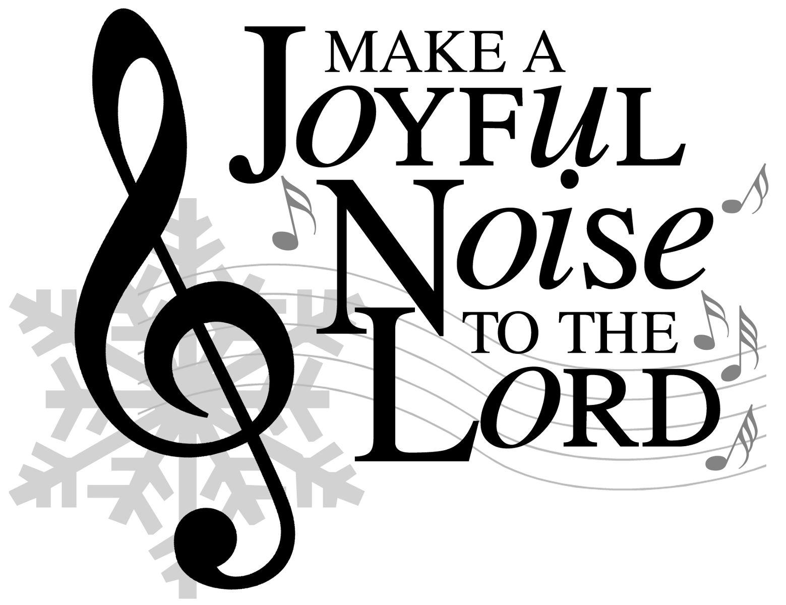 Music clipart joyful Free Art Clipart Clip Gospel