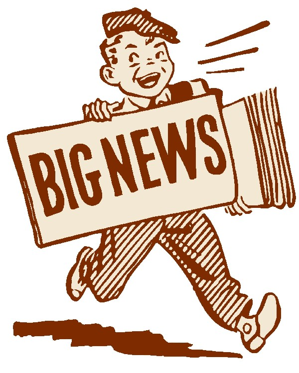 Library clipart news Breaking News Free Clip Breaking