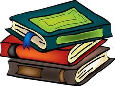 Library clipart novel Cartoon Books Clipart and free