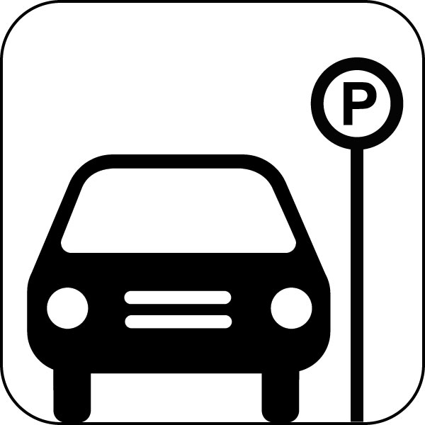 Traffic clipart parked car Free Clip for Pictogram Free
