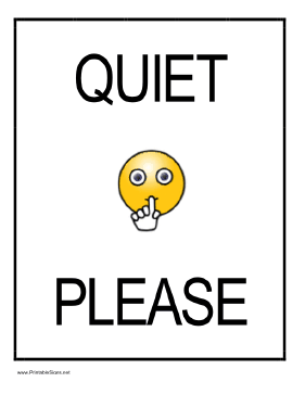 Library clipart quiet place Has of a a yellow
