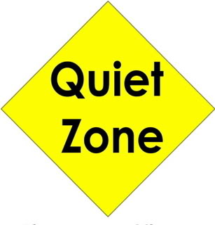 Library clipart quiet place Zone Signs Clipart Art Free