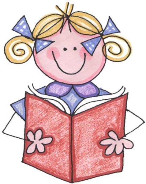 Bobook clipart children's book Art Free Reader Art Clip