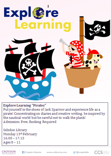 Library clipart reading and writing – events Nursery at pirate