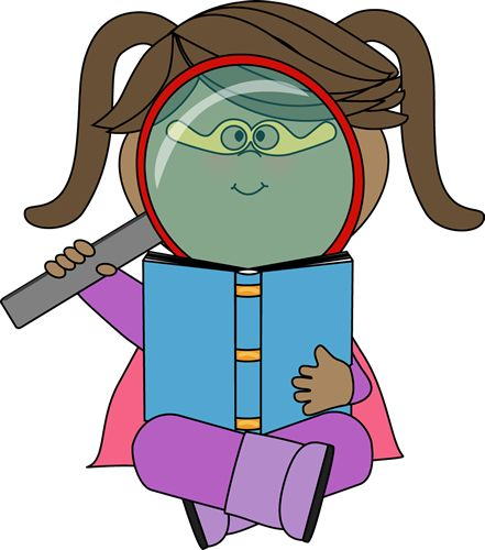 Library clipart reading and writing A images Superhero color Dibujos