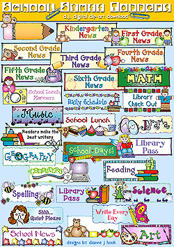 Library clipart school stuff Download by Toppers Stuff School