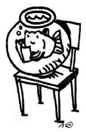 Library clipart silent reading Reading Silent Library Sustained fish
