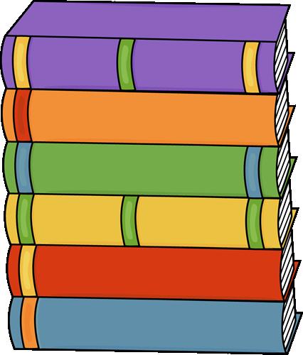 Book clipart book stack Art Books Books of Tall