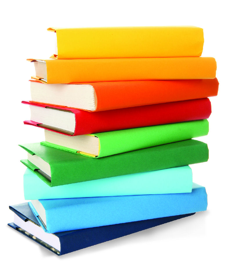 Book clipart book stack Collection stack Clipart book collection