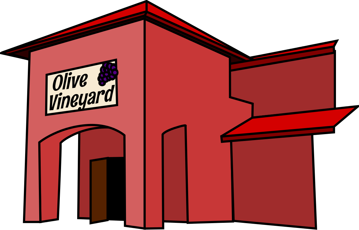 Library clipart supermarket building  Building Library Building Image