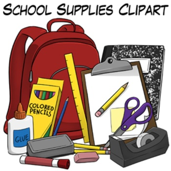 Notebook clipart school material Images Supplies Art Clip images