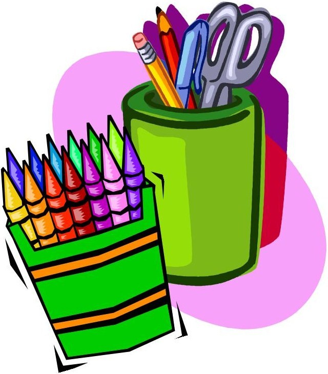 Crayon clipart art supply Art  List library library