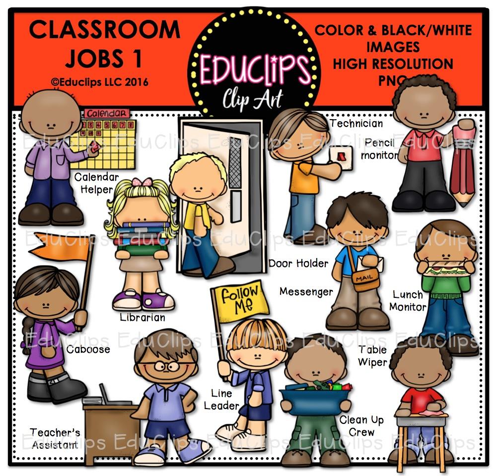 Door clipart classroom job Clip up Mega classroom art