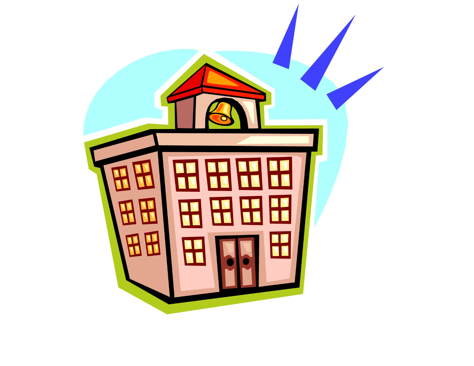 Larger clipart school building Other Clip Free Clip on