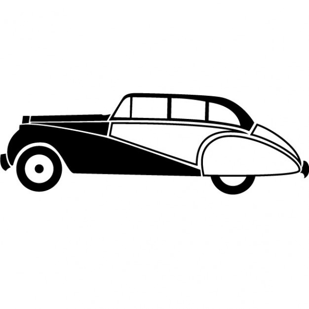 Library clipart vector free download Download Art Retro Car Clip