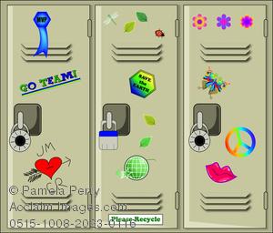 Licker clipart Clip School Lockers Image School