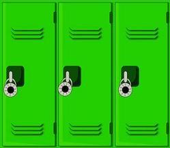 Licker clipart School Clipart School Free Lockers
