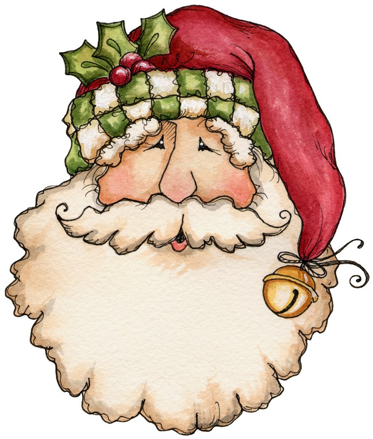Country clipart santa On 60 Art Pinterest Clip