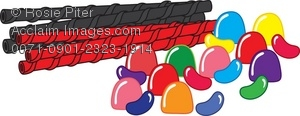 Licorice clipart Illustration Art Beans Licorice Gumdrops