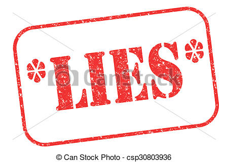 Lies clipart Download Lies on Instant stamp