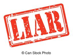 Lies clipart Vector white stamp Clipart Liar