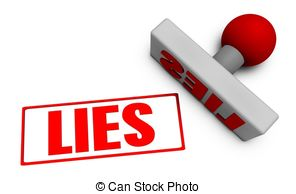 Lies clipart 3d Paper vector or EPS