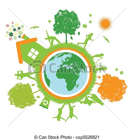 Green Day clipart green object Life green of  world