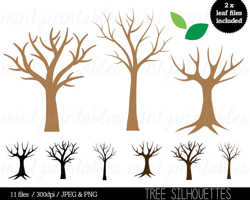 Life clipart silhouette This Family Art of Tree