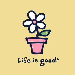Life Is Good clipart Pot flower Nithyananda! Words pot