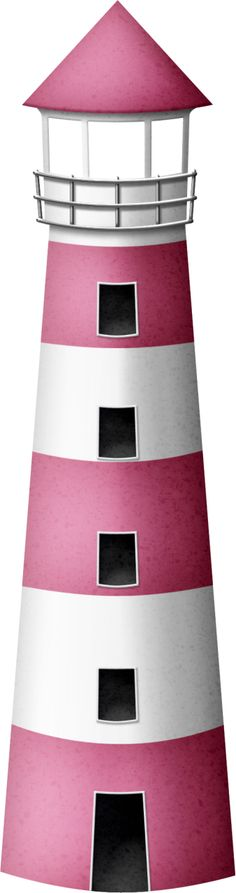 Lighhouse clipart pink Bag Dibujos Safari‿✿⁀•● Imprimibles Profesiones