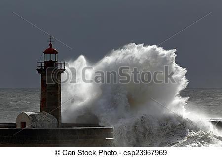 Lighthouse clipart storm clipart storm