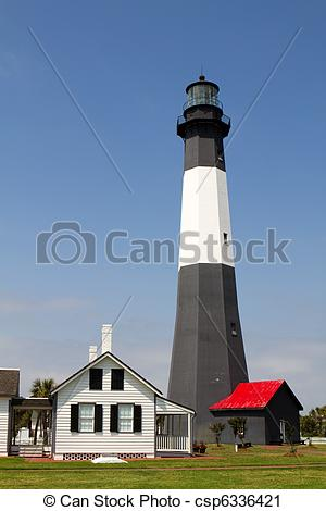 Lighhouse clipart tybee #10