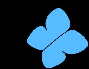 Light Blue clipart #2