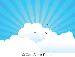 Clouds clipart blue background Background with of 479 Clouds