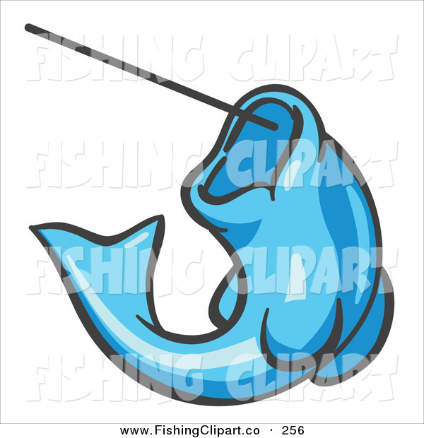 Light Blue clipart fish Trout a up of Clip