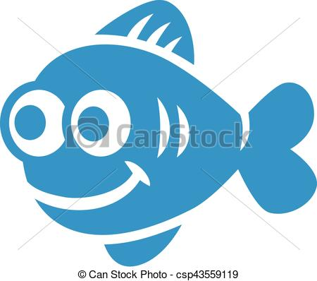 Light Blue clipart fish Comic with Art comic Clip