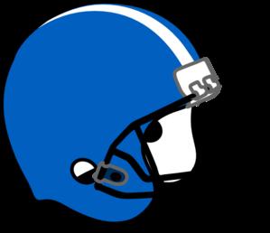 Football clipart light blue #2
