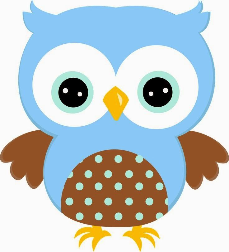 Light Blue clipart owl Η and art Find more