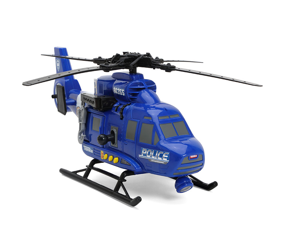 Light Blue clipart police helicopter TONKA And Product Lights Sounds