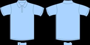 Shirt clipart collar shirt Art Polo Clker com vector