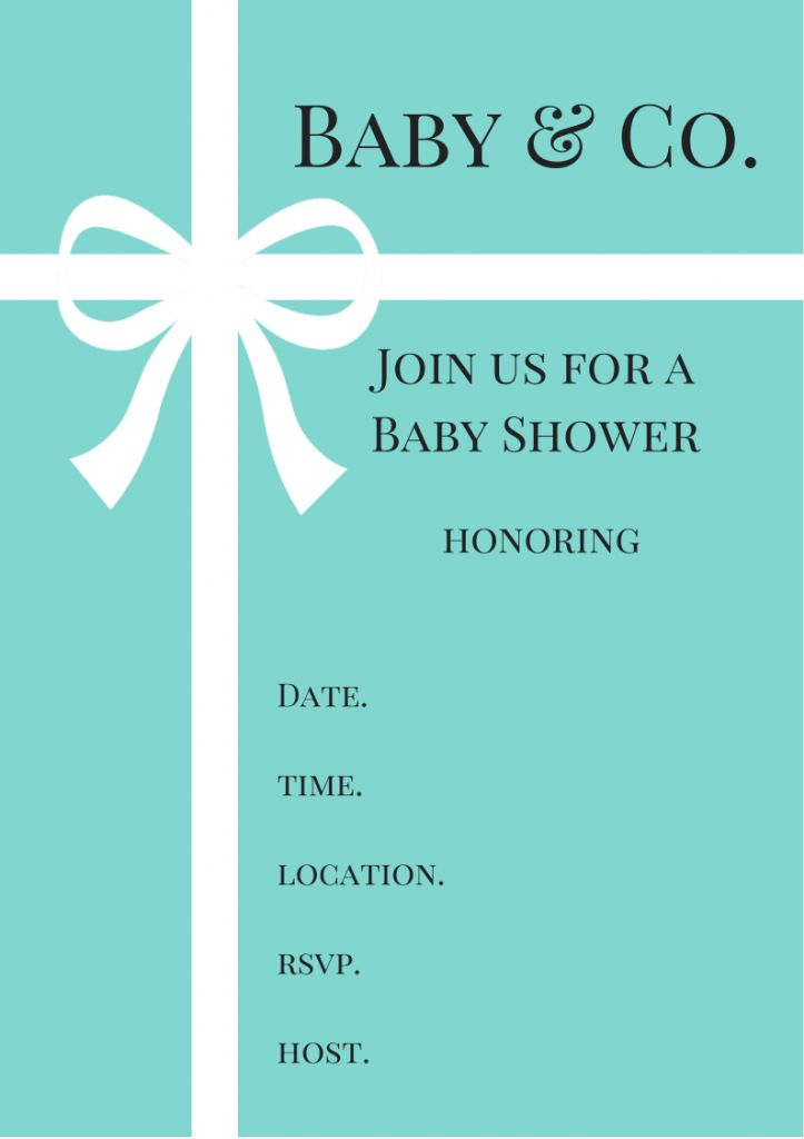 Light Blue clipart tiffany and co Invitations ideas baby Themes Shower