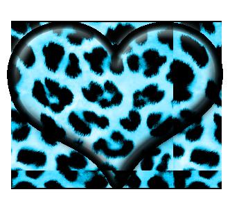 Light Blue clipart turquoise heart By on MissesAmberVaughn CHEETAH CHEETAH