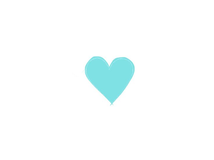 Light Blue clipart turquoise heart Best on Hearts Pinterest images