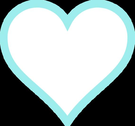 Light Blue clipart turquoise heart Clip Free Art Art