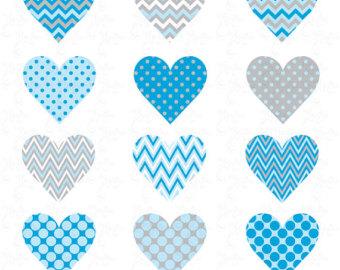 Light Blue clipart turquoise heart Hearts Cliparts Cliparts pack YenzArtHaut