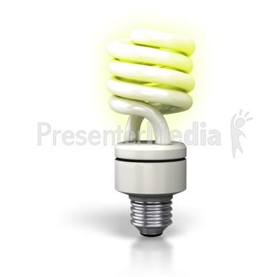 Bulb clipart cfl bulb Clipart Lite Row Cfl Presentation