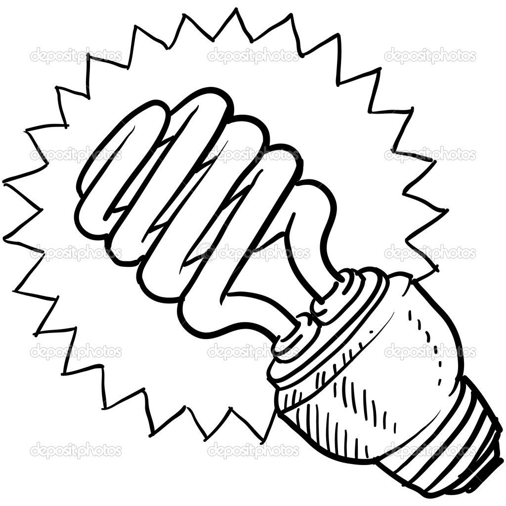 Drawn lamp cfl bulb Info Clipart light Images Panda