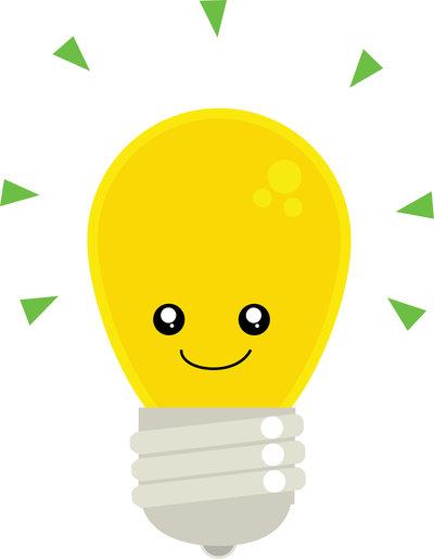 Light Bulb clipart cute By DeviantArt on Bulb Cute